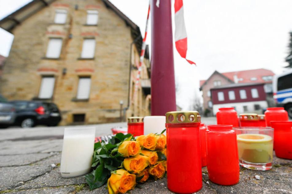 Trauerfeier und Bestattungen nach Bluttat in Rot am See mit sechs Toten