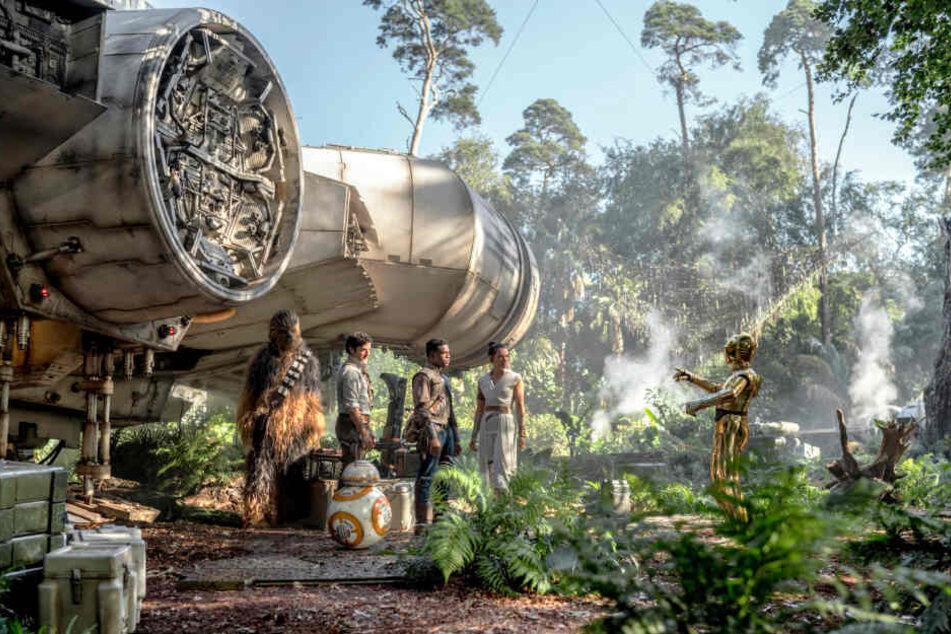 Der neue Hauptstützpunkt der Rebellen befindet sich auf einem Dschungelplaneten.