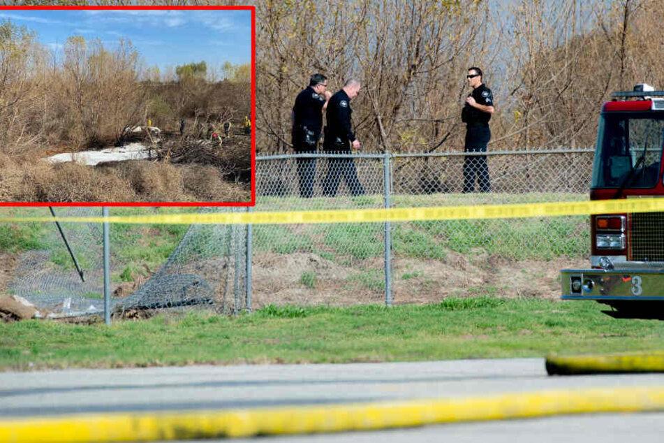 Tragödie: Kleinflugzeug stürzt ab, alle vier Insassen tot!