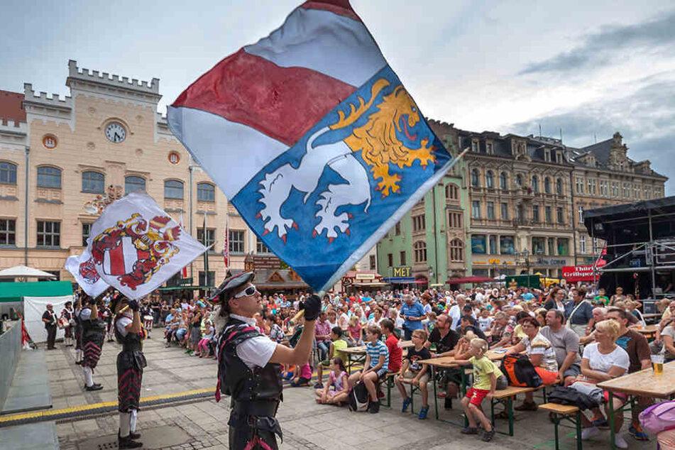 Das Zwickauer Stadtfest lockt im August.