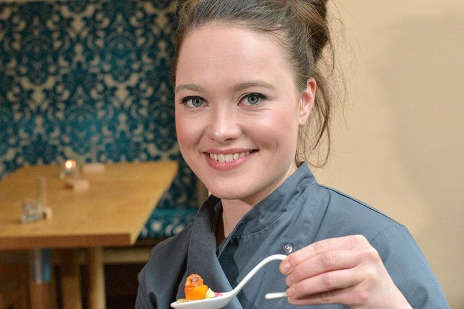 Genuss auf einen Löffel konzentriert - das ist die Spezialität von Verena  Leister (25). Eine Hobbyköchin ist sie wohl längst nicht mehr.