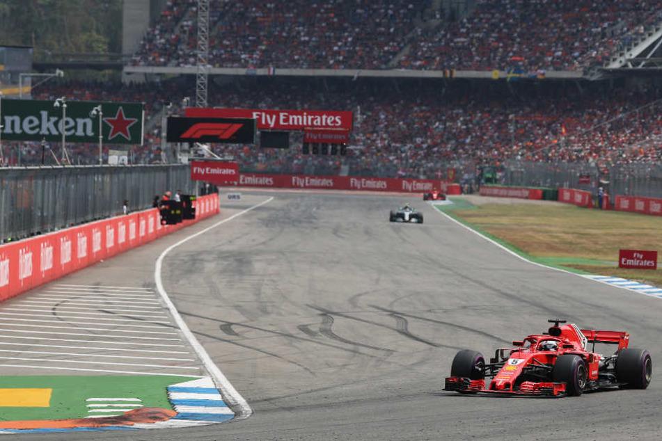 Im nächsten Juli wieder auf dem Hockenheimring zu Gast: die Formel 1. (Archivbild)