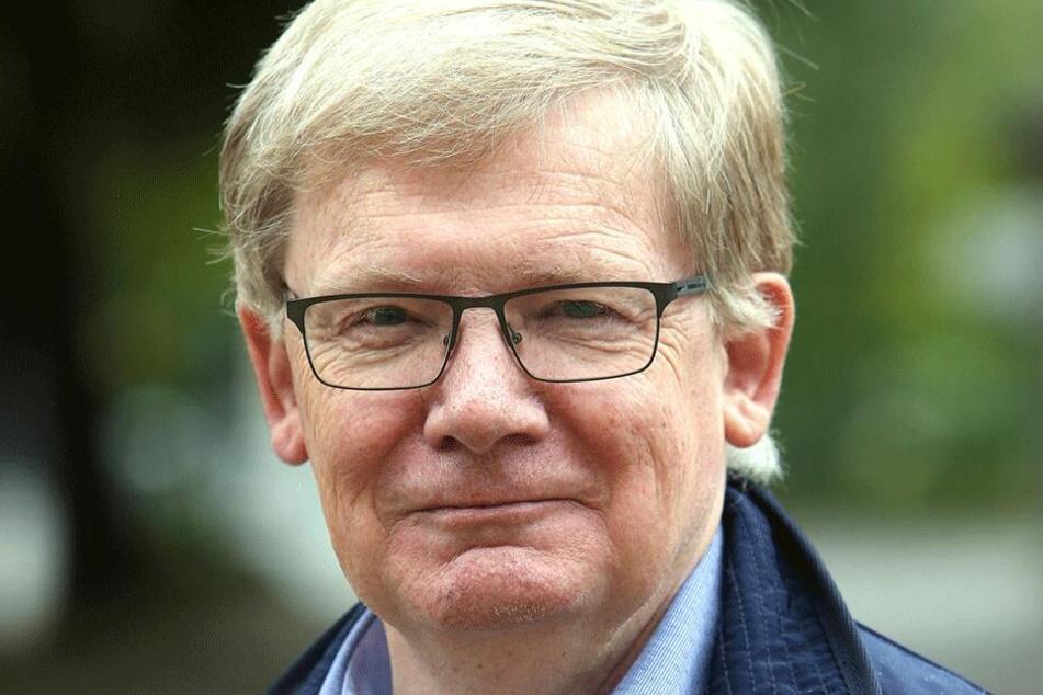 Dietmar Berger (68, Linke) fordert Wettbewerbsgleichheit für alle Gastronomen in Chemnitz.
