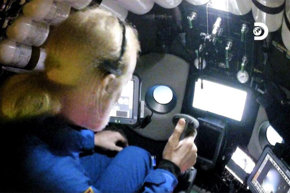 Erforscht mit der Hilfe eines Spezial-U-Bootes die Tiefen des Meeres: Victor Vescovo (53)