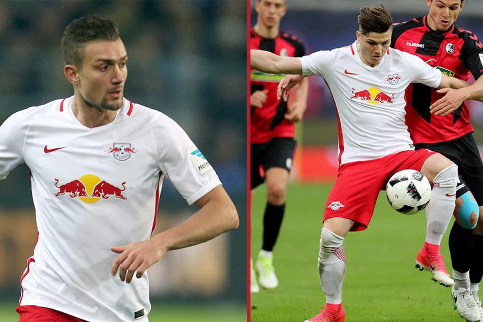 Stefan Ilsanker (28, li.) und Marcel Sabitzer (23, re.) werden im Oktober für die österreichische Nationalmannschaft spielen.