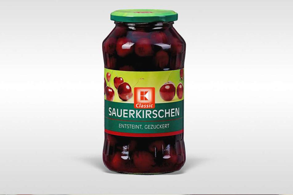 """Kaufland ruft seine """"K-Classic Sauerkirschen"""" zurück."""