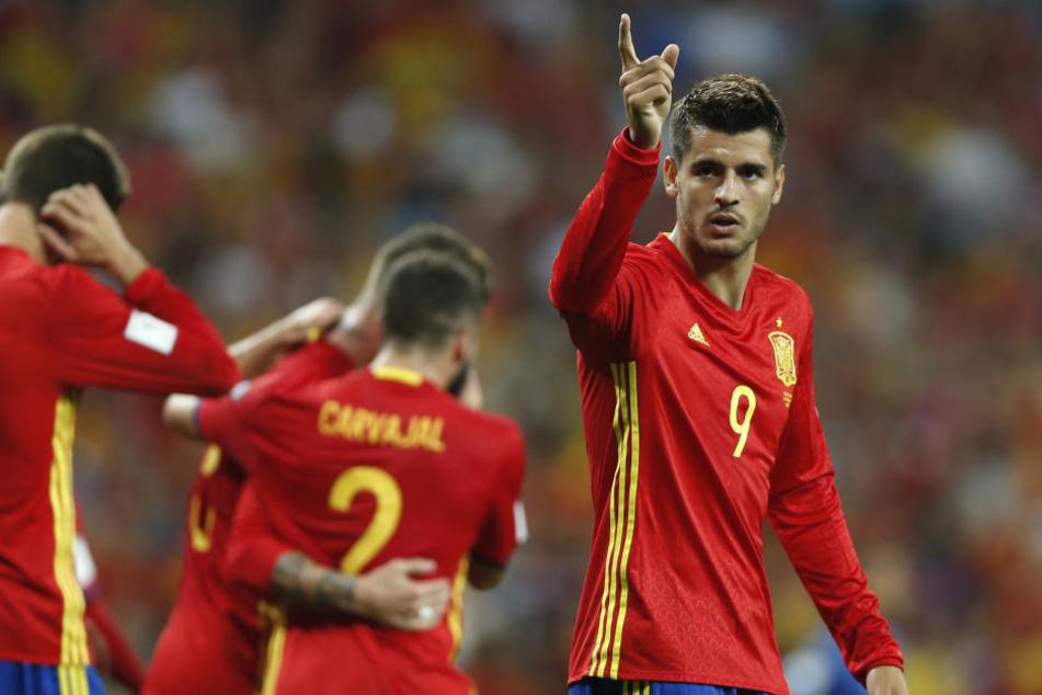 Bedeutet das das Aus für die spanische Nationalmannschaft (hier José Callejón)?