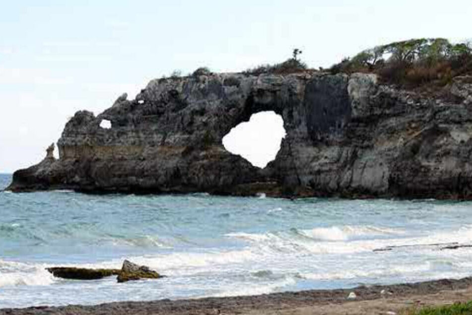 Beliebtes Naturdenkmal bei Erdbeben eingestürzt