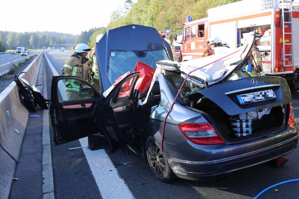 In Bayern ist es auf der Autobahn 9 zu einem schweren Verkehrsunfall gekommen.
