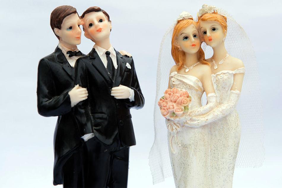Die Ehe für alle findet nicht überall Anklang.