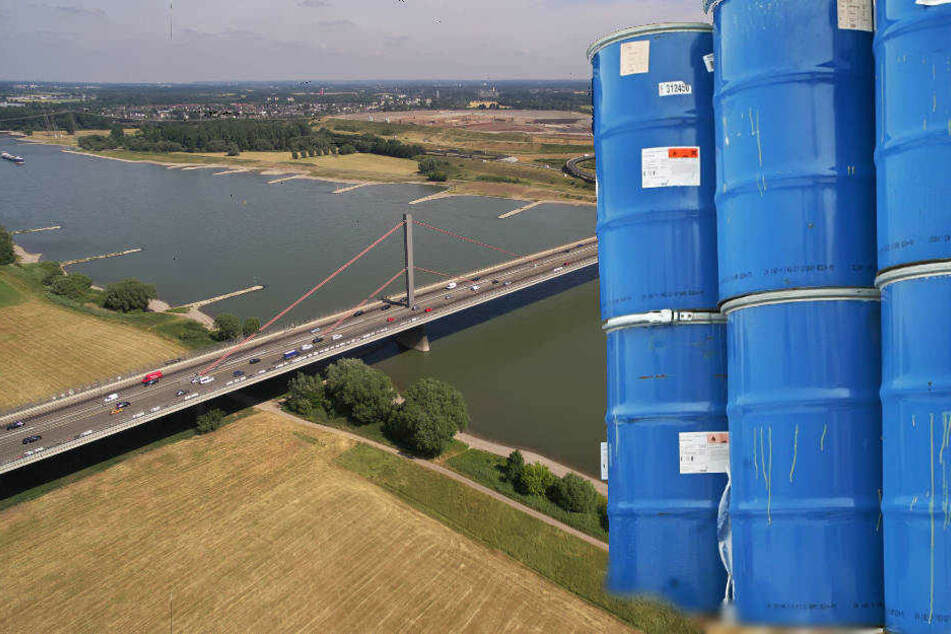 Weil einige Pfeiler der neuen Brücke auf dem Gelände der Deponie Dhünnaue geplant sind, müssen die dort gelagerten Altlasten entsorgt werden.