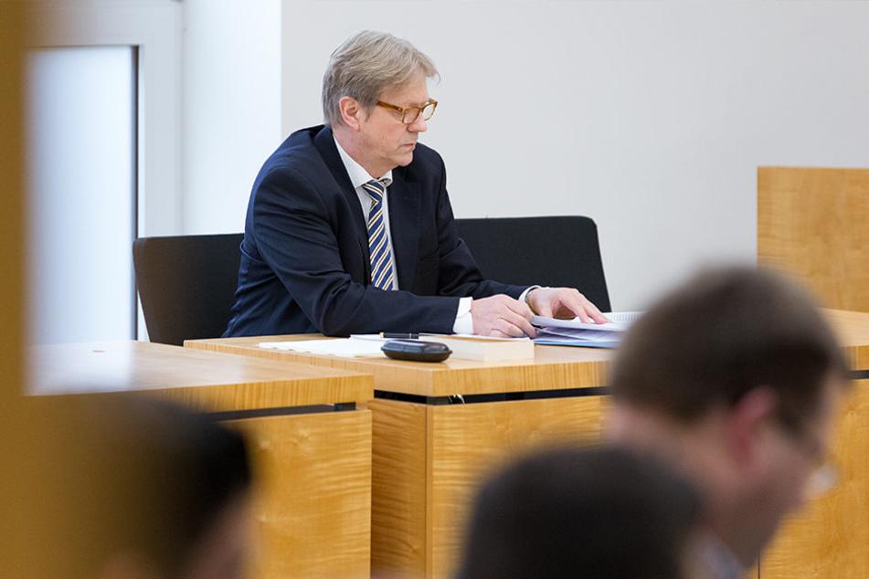 Norbert Simon vom Bundesamt für Migration und Flüchtlinge vertrat die Bundesrepublik Deutschland in Münster.