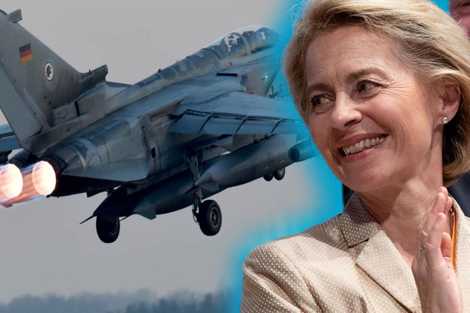 Von der Leyen lässt prüfen, ob sich die Bundeswehr in Syrien beteiligen soll