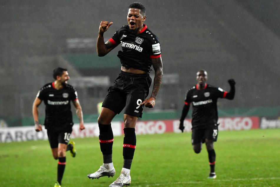 Leon Bailey (23, M.) erzielte in 156 Einsätzen für Bayer 04 Leverkusen 39 Tore und gab 26 direkte Vorlagen.