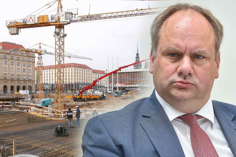 OB Hilbert stinksauer! Kostenexplosion beim Altmarkt-Umbau