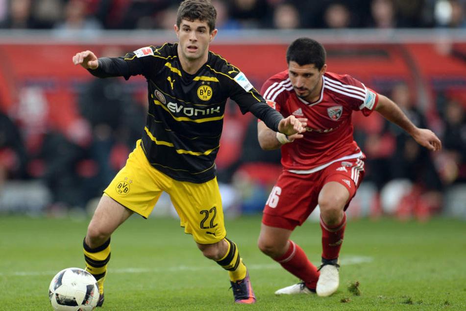 Christian Pulisic trifft mit dem BVB auf den AS Monaco.