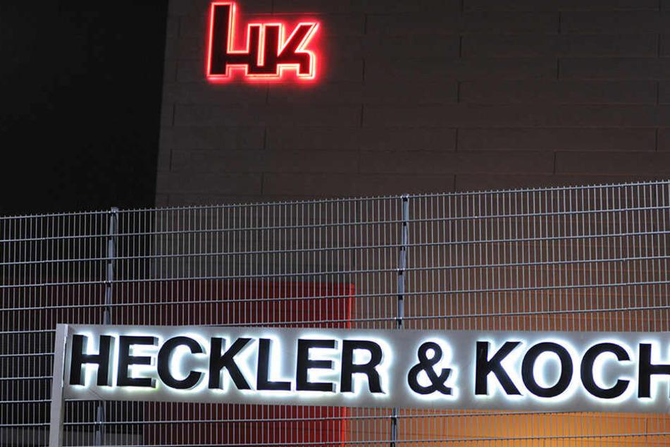 Heckler & Koch sitzt in Oberndorf am Neckar (Landkreis Rottweil) und ist Deutschlands bedeutendster Hersteller von Handfeuer- und Infanteriewaffen. (Archivbild)