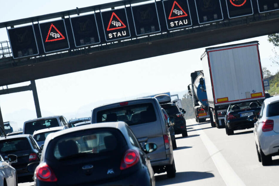 In Bayern kann es auf mehreren Autobahnen am Osterwochenende zu Staus kommen.