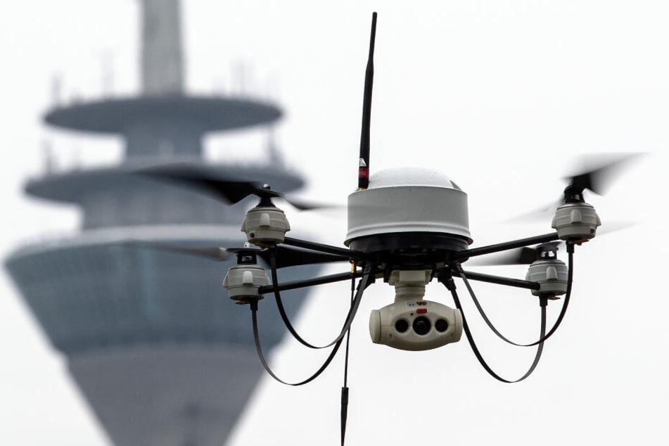 Waffen und Technik gegen Drohnen in NRW vorgestellt