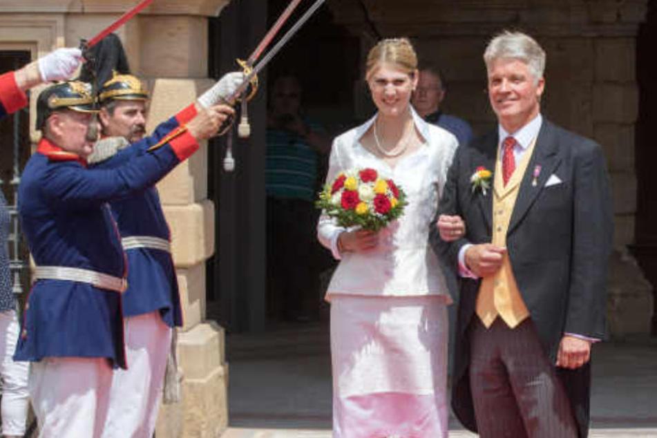 Prinzessin von Sachsen-Coburg und Gotha hat Ja gesagt