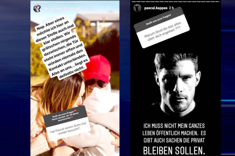 Auf Instagram teilt Denisé Kappès (28) gegen ihren Ex Pascal aus.