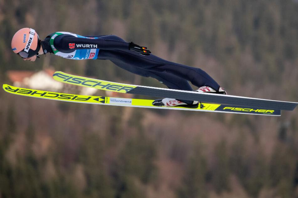 Mitfavorit Karl Geiger: Neujahrsspringen in Garmisch steht an