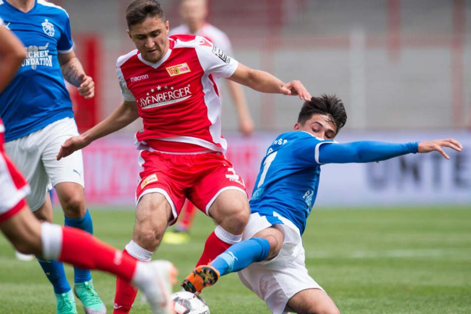 Berkan Taz wechselte 2016 von Hertha 03 Zehlendorf zum 1. FC Union Berlin.