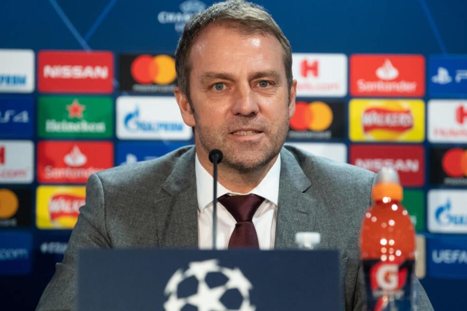 Montag Geburtstag, Dienstag Sieg? Hansi Flick (55) will gegen den FC Chelsea ein Zeichen setzen.