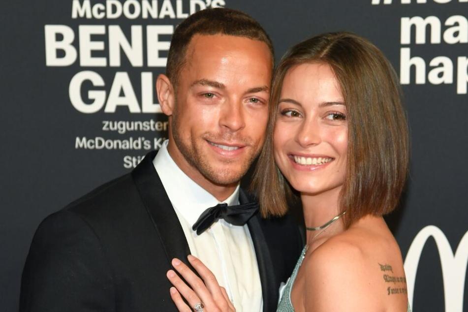 Andrej Mangold (32) und Jennifer Lange (26) bei einer Benefiz-Gala im November 2019.