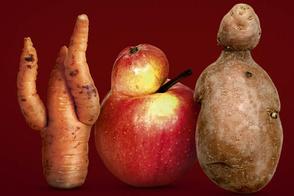 Gesund, aber mit optischen Mängeln: Kaufland bietet nun etwas anderes Obst an.