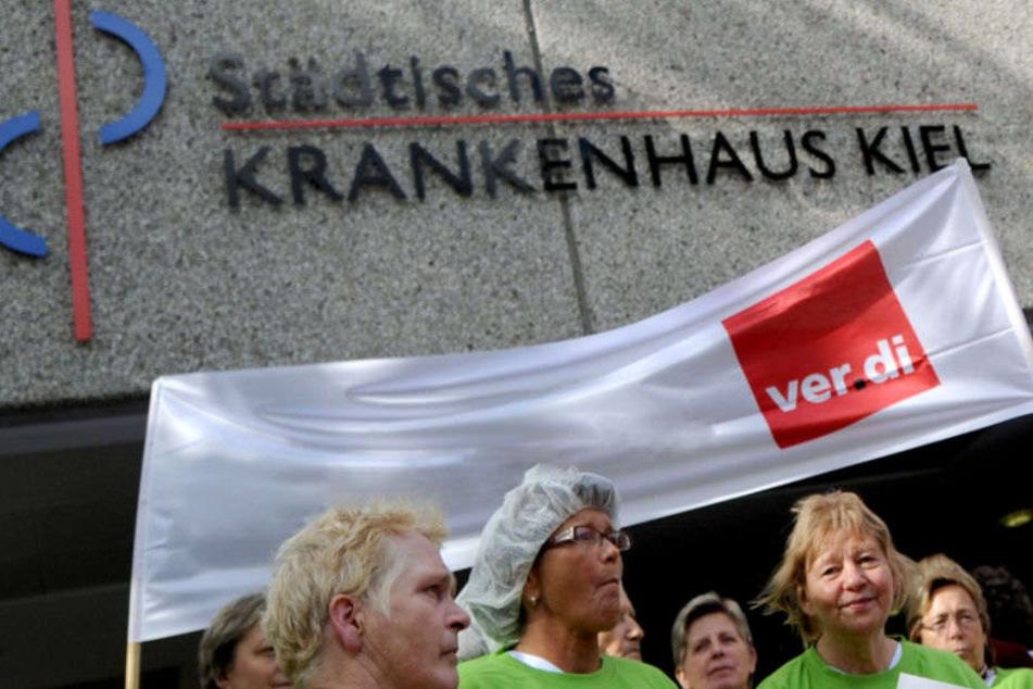 In Schleswig-Holstein könnten auch Krankenhäuser betroffen sein. (Symbolbild)