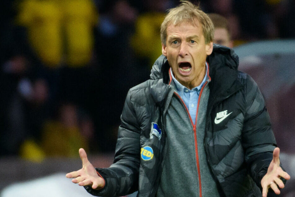 Jürgen Klinsmann hat sein erstes Spiel als Trainer von Hertha BSC verloren.