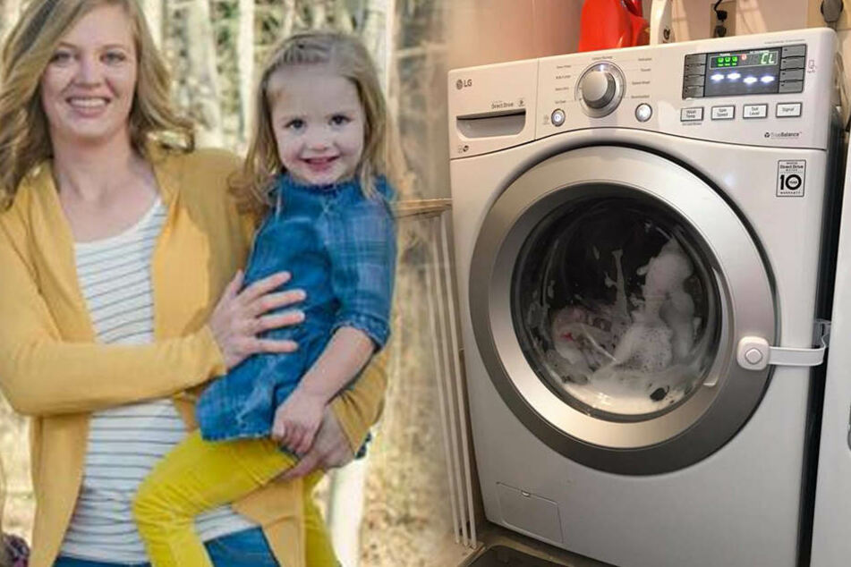 Man konnte ihre Schreie nicht hören: Kind (3) in Waschmaschine eingesperrt