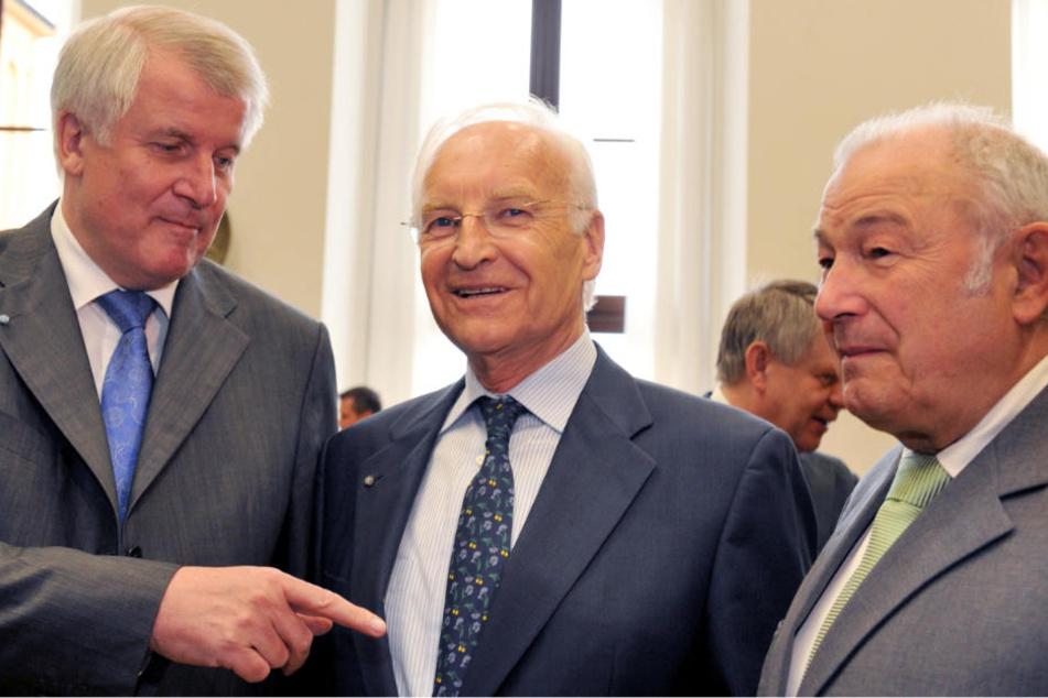 Stoiber und Beckstein warnen CSU vor Personaldebatte