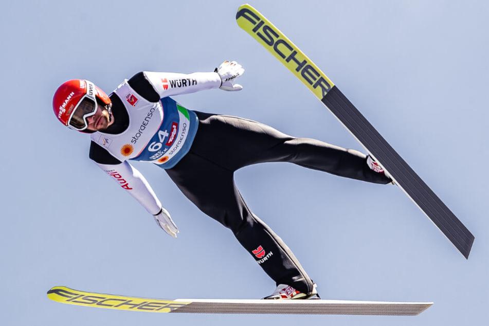 Markus Eisenbichler will bei der WM in Innsbruck über sich hinauswachsen.