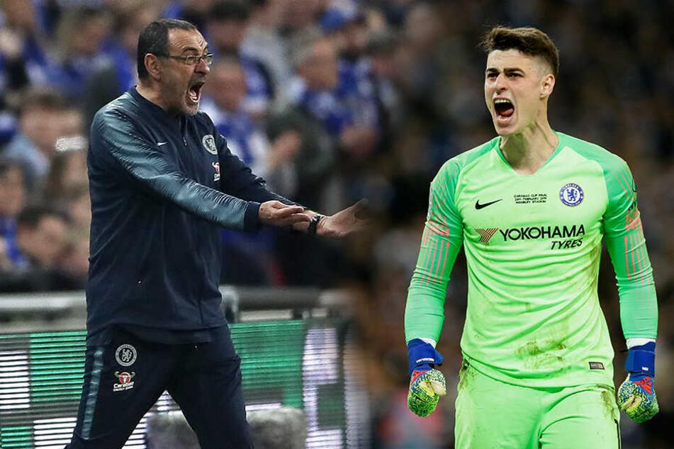 Eklat im Ligapokal: Darum ließ sich Chelsea-Torwart Kepa nicht auswechseln