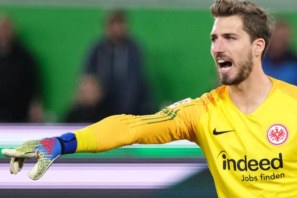 Das Foto vom 22. April zeigt Torwart Kevin Trapp von Eintracht Frankfurt.