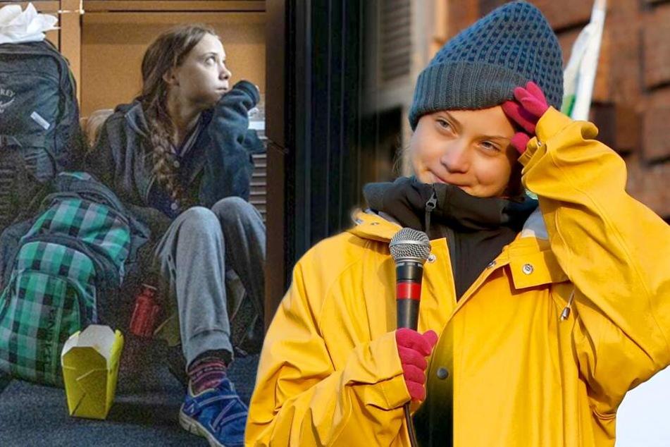 Video aufgetaucht! Saß Greta Thunberg wirklich im ICE-Gang?