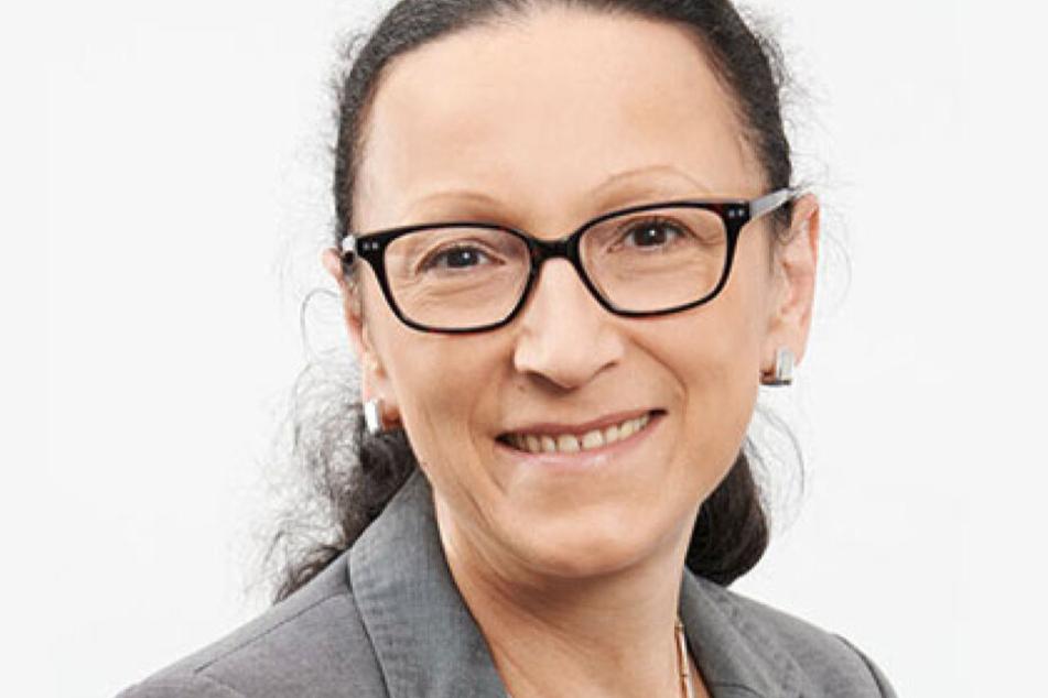 Gerlind Ostmann (54) von der DREWAG.