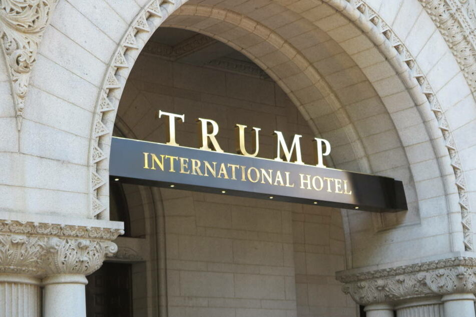 Teil des Konflikts: Trump's International Hotel.