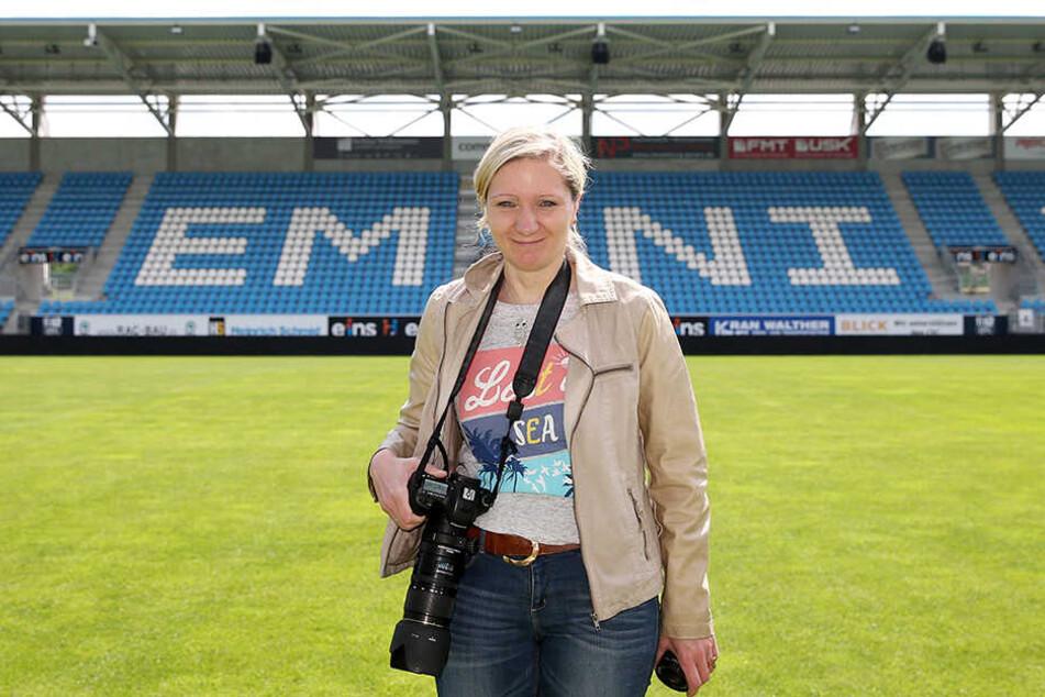 Peggy Schellenberger war Fanbeauftragte beim CFC und wurde im Rahmen des Skandals entlassen.