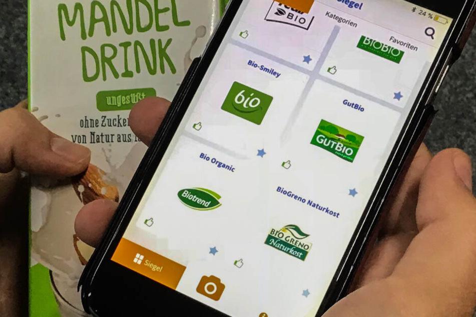 Mit einer App werden die vielen unterschiedlichen Bio-Siegel durchschaubar.