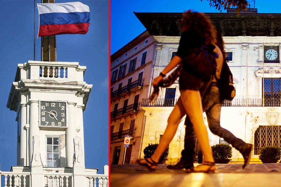 Auf der Krim ticken die Uhren bereits anders. Auf Mallorca soll demnächst auch nur noch die Sommerzeit gelten.