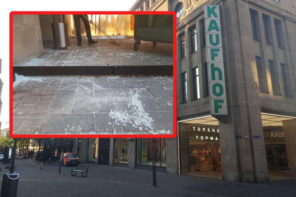 Köln: Einbrecher stürmen Kaufhof in Kölner Innenstadt!