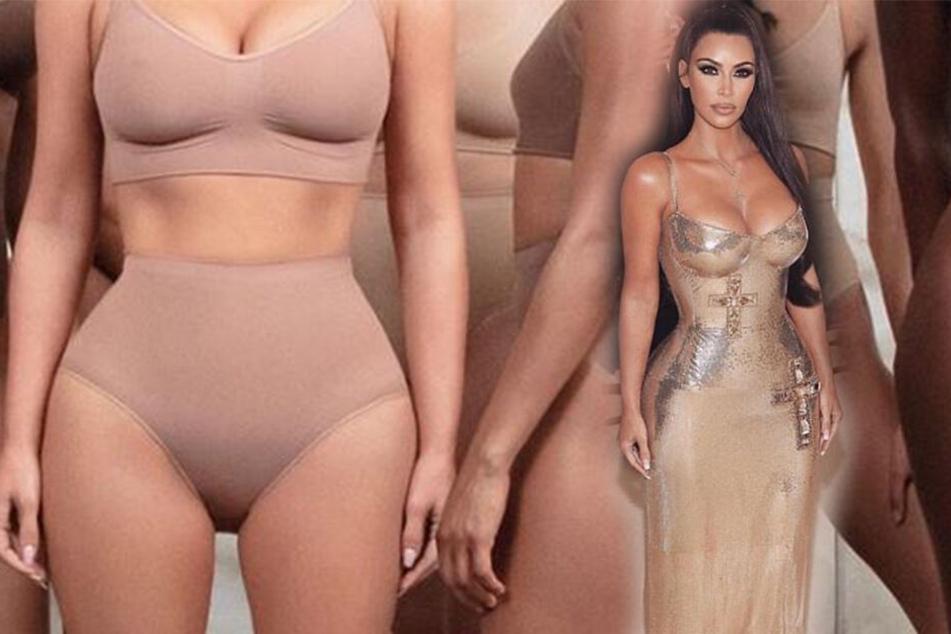 """Shapewear für jeden Typ: Mit dem Namen """"Kimono Solutionwear™"""" vertreibt Kim Kardashian eine neue Modelinie."""