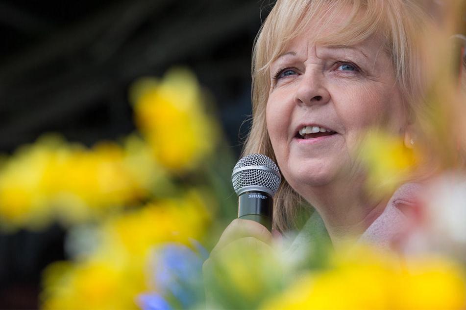 NRW-Ministerpräsidentin Hannelore Kraft (SPD) hat am Mittwoch die Landesgartenschau eröffnet.
