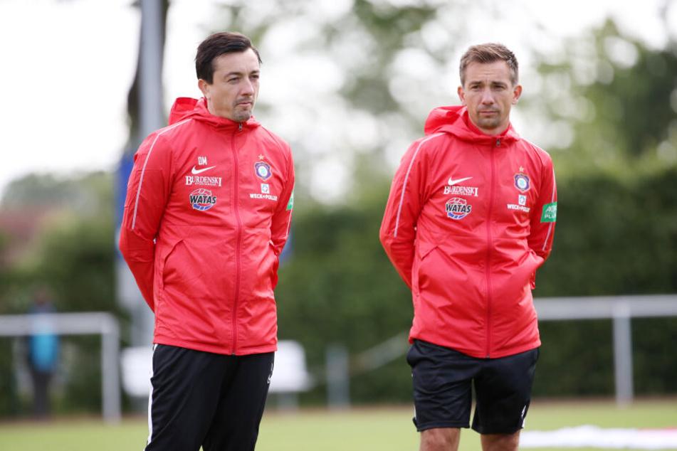André Meyer hat vorerst das Trainer-Zepter von Bruder Daniel übernommen.