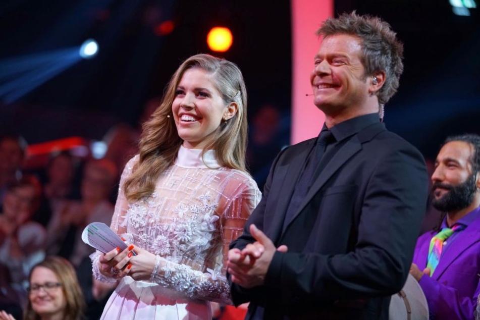 In der zweiten Show wirkte Victoria Swarovski (24) an der Seite von Oliver Geissen (48) schon um einiges sicherer.