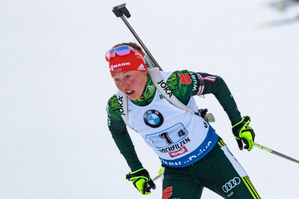 Laura Dahlmeier will aufgrund der Korea-Krise eventuell auf eine Teilnahme an den Olympischen Spielen im Februar 2018 in Pyeongchang verzichten.