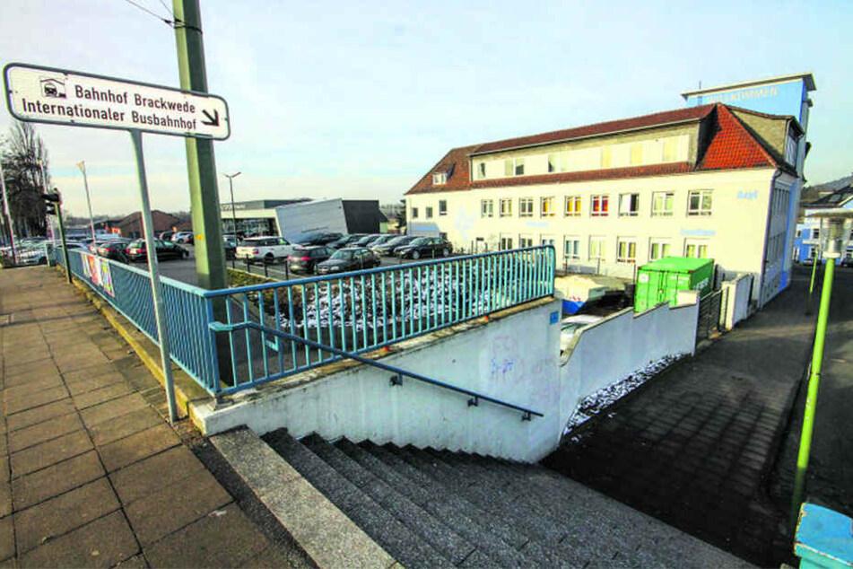 Noch ist offen, was tatsächlich am Bahnhof Brackwede passiert.